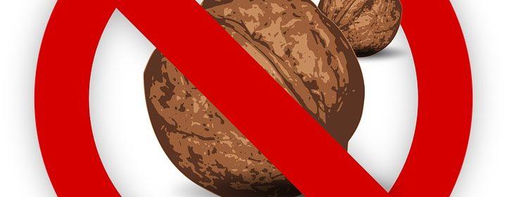 Allergie alimentaire aux noix